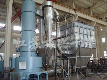 SiC drying production line
