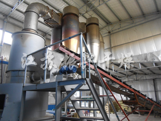 The Project Of Flash Dryer for Humic Acid Fertilizer