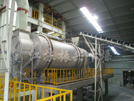 Three Breeze Tube Rotary Dryer Project